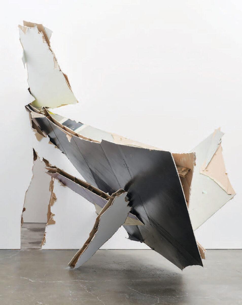 photograph of a sculpture by artist Felix Schramm