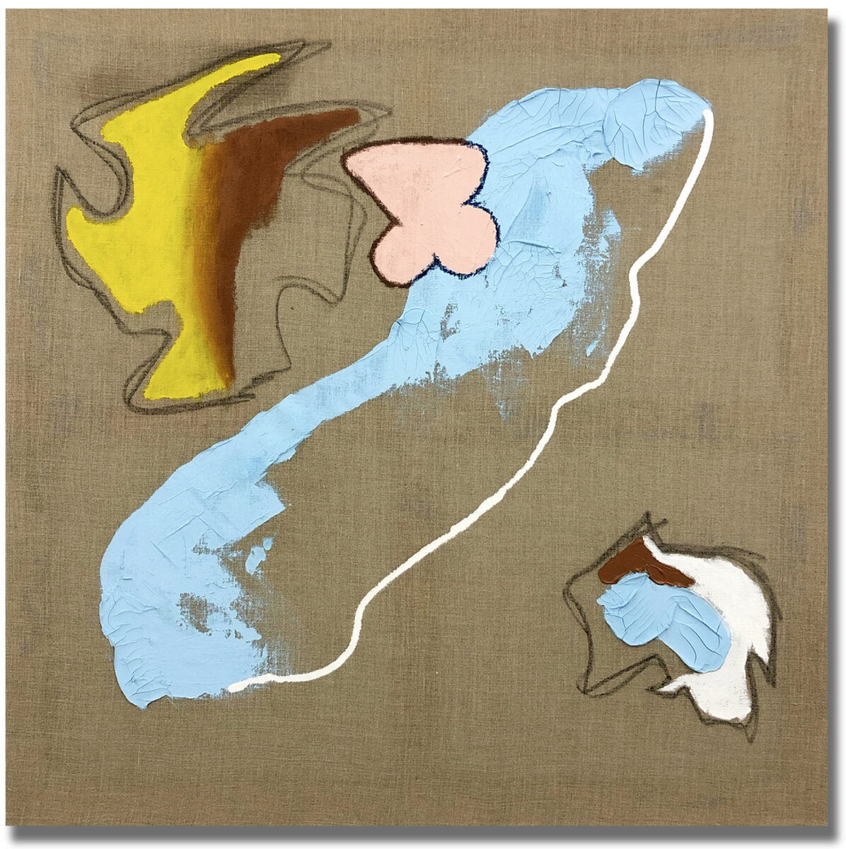 A photograph of the painting Untitled by Hetty Douglas